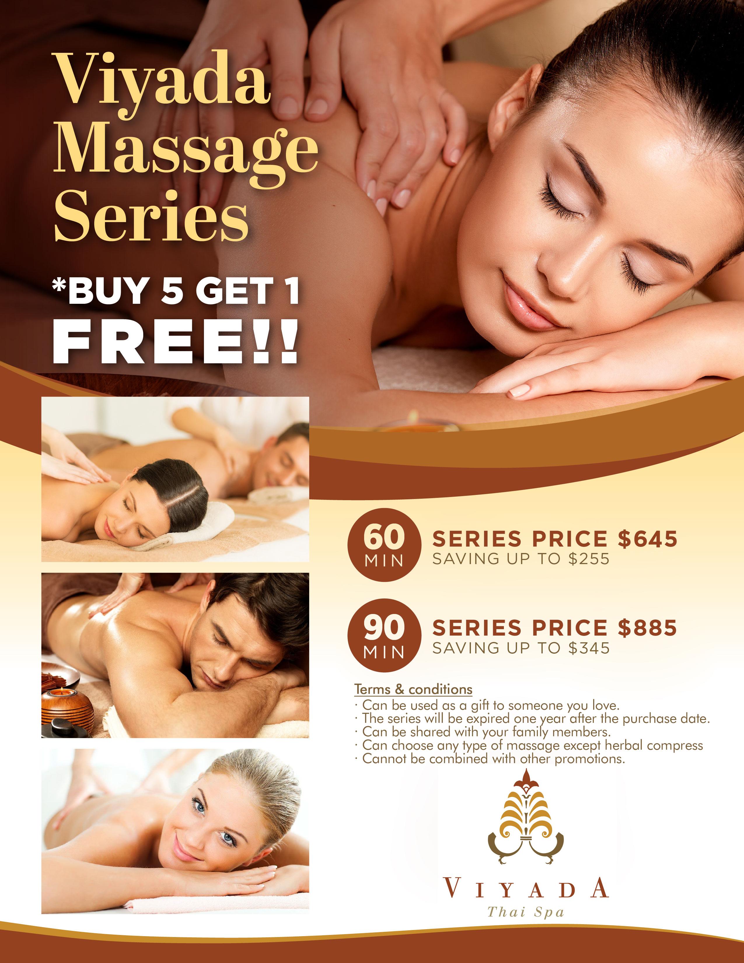 Viyada Massage Series