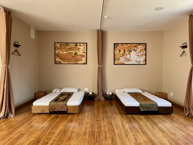 Our Couples Thai Massage Room